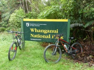 Entering the Whanganui National Park