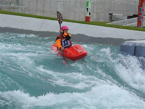 Kayaking on River Rush