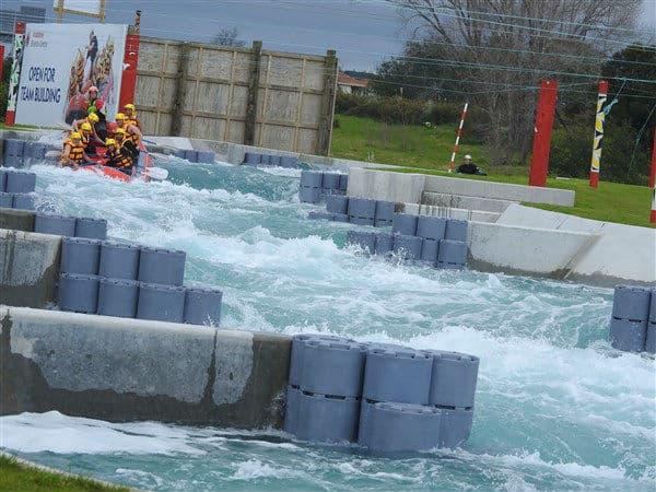 Rafting on River Rush