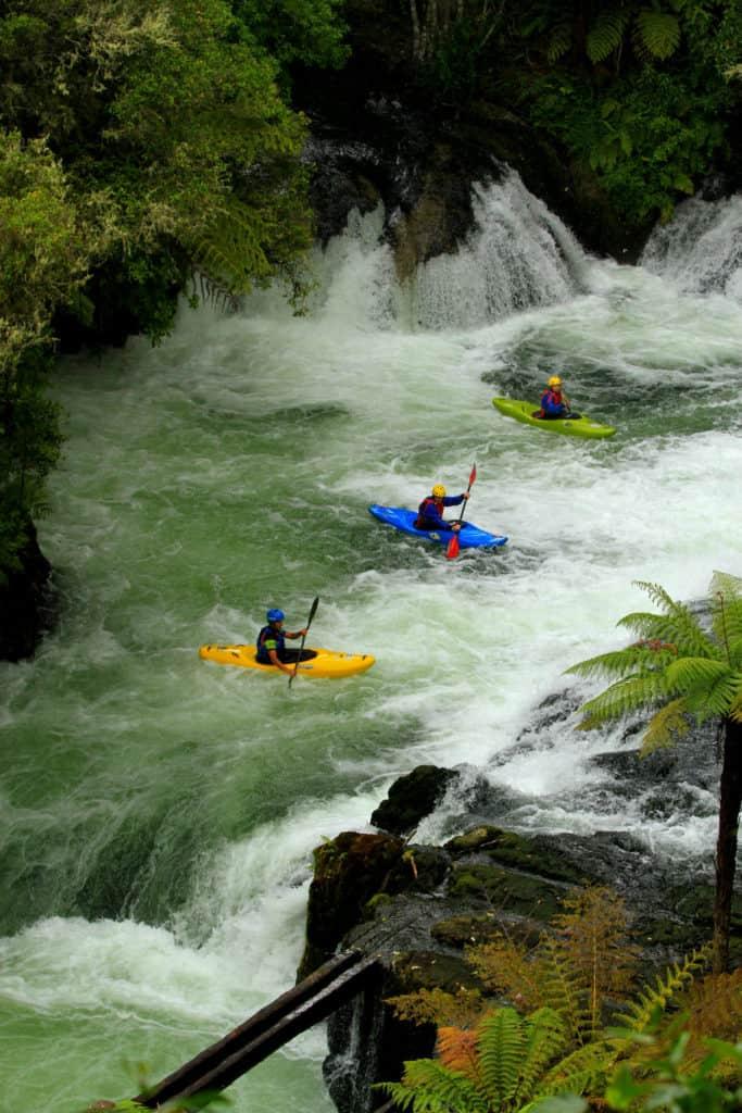 Whitewater kayaking Kaituna