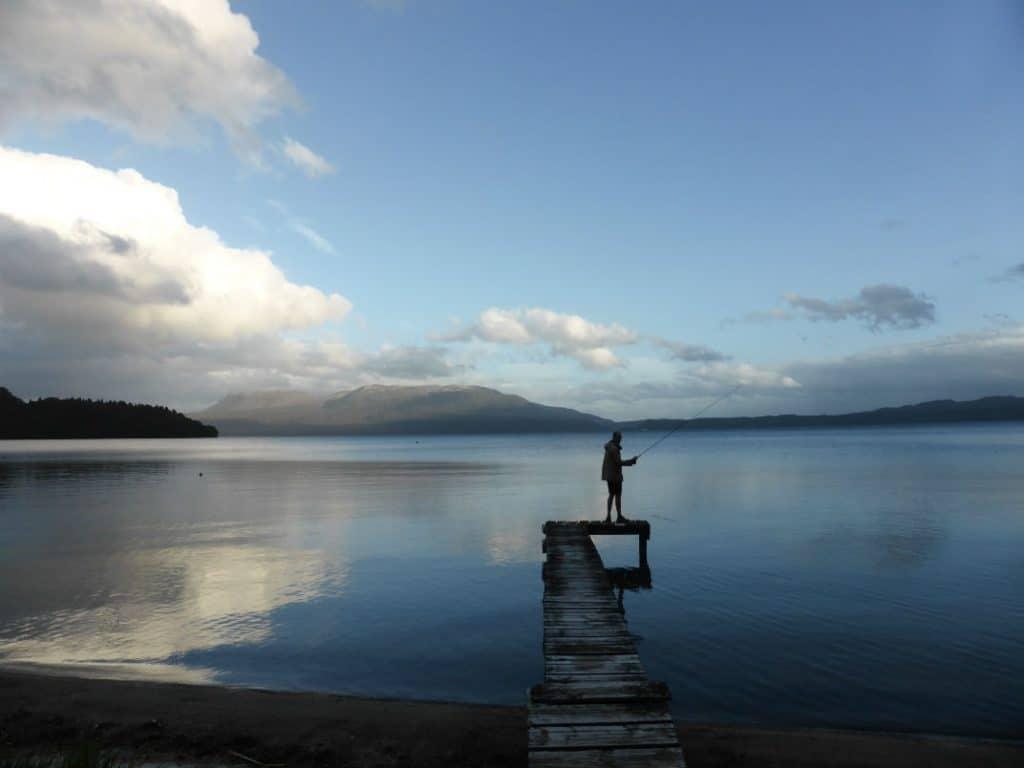 Trout Fishing Lake Tarawera