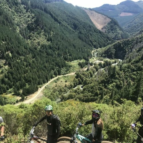 Stoked Riders at Wairoa Gorge