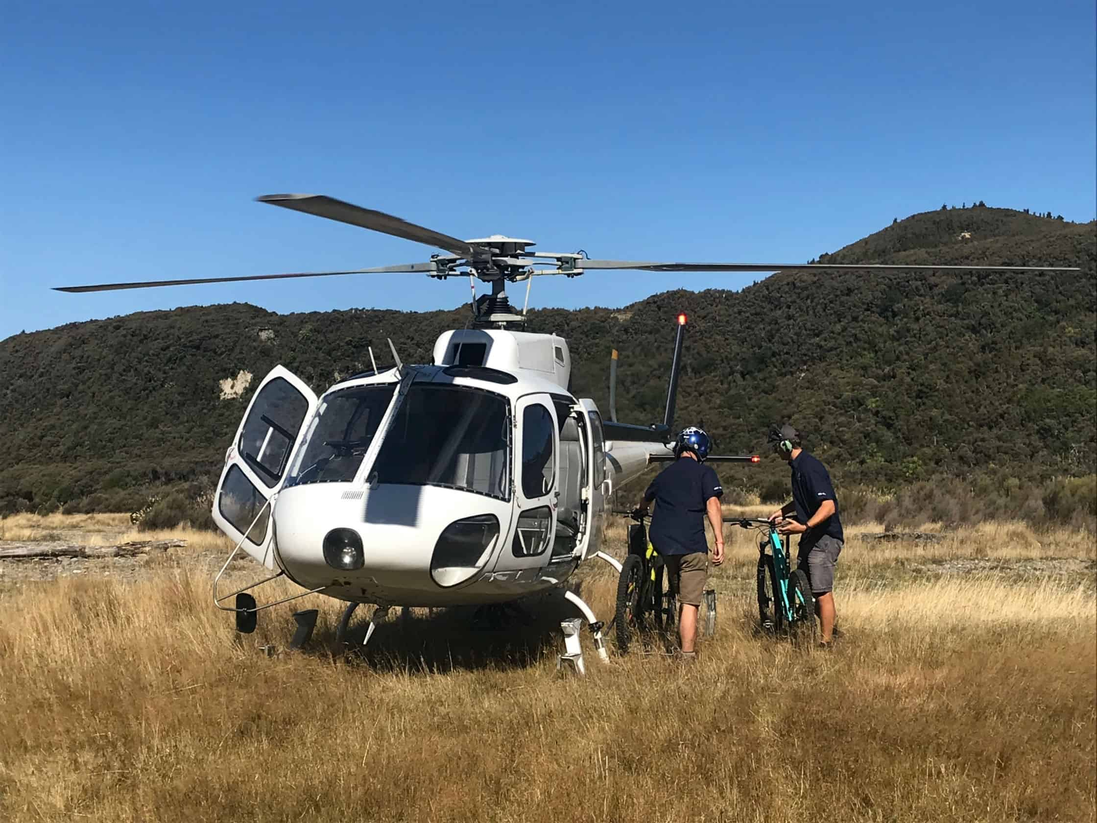Te Iringa Helicopter Pick up