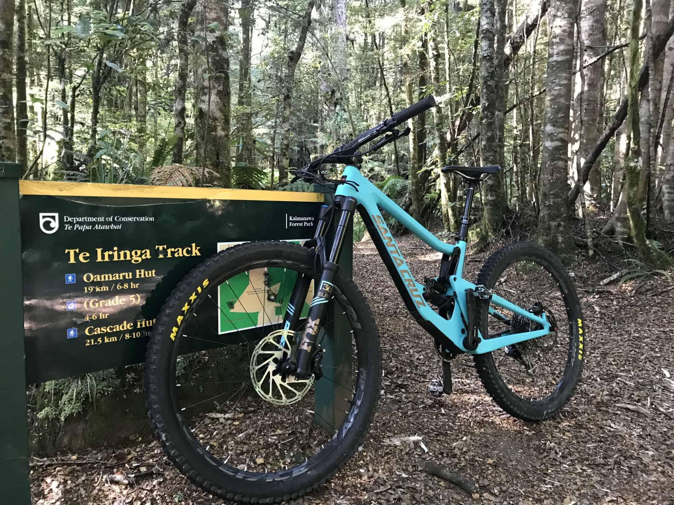 Te Iringa Track Start